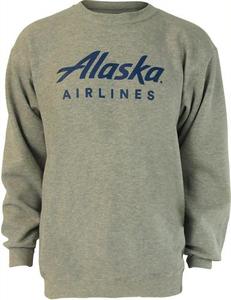Alaska Airlines Crewneck Long Sleeve Fleece