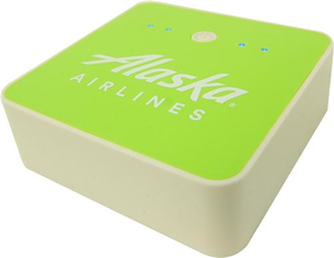 Alaska Airlines Square Power Bank