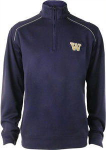 Men's Cutter and Buck WeatherTec™ Ridge Half Zip - University of Washington