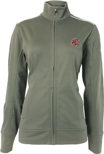 Women's Cutter and Buck WeatherTec™ Full Zip-Washington State University