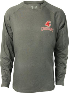Men's Under Armour Performance Crew - Washington State University