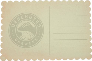 Beer Logo Postcard: Pacific Wonderland