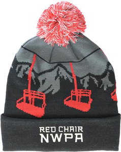 Beer Logo Beanie: Red Chair NWPA