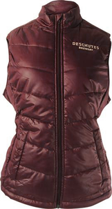 Women's Deschutes Brewery Cutter & Buck Puffy Vest
