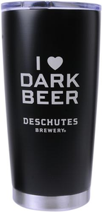 Deschutes Brewery 20.9 oz I Love Dark Beer Brunch Mug