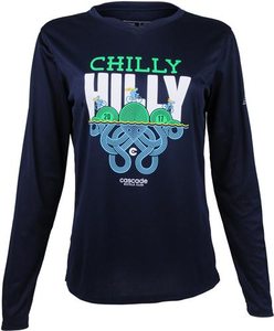 Chilly Hilly 2017 Women's Performance Long Sleeve Tee