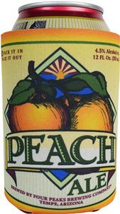 Peach Can Koozie