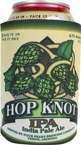 Hop Knot Can Koozie