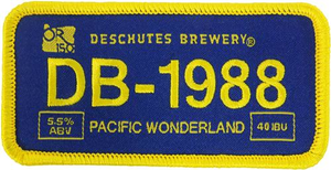"Beer Logo 5"" x 2.5"" Patch: Pacific Wonderland"