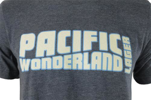 Beer Logo T-Shirt: Pacific Wonderland