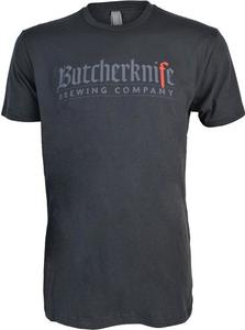 Butcherknife Brewing Short Sleeve Logo Tee