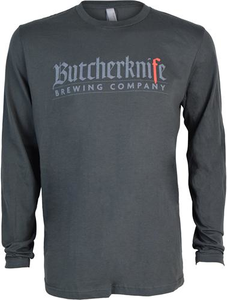 Butcherknife Brewing Long Sleeve Logo Tee