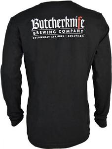 Butcherknife Brewing  Long Sleeve Logo Tee