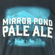 Beer Logo T-Shirt: Mirror Pond Pale Ale image 2
