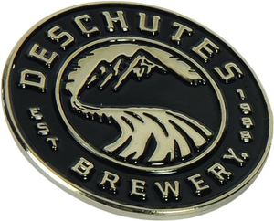 "Deschutes Brewery 1"" Lapel Pin - Circle Logo"