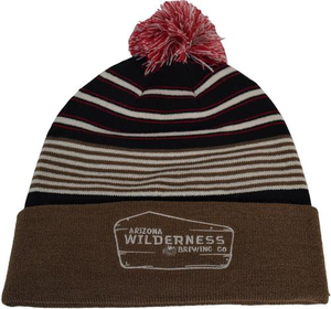 Arizona Wilderness Cuff Pom Beanie