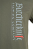 Butcherknife Brewing Vertical Logo Short Sleeve Tee image 4