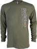 Butcherknife Brewing Vertical Logo Long Sleeve Tee image 1