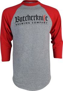 Butcherknife Brewing Baseball Tee