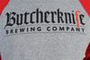 Butcherknife Brewing Baseball Tee image 4