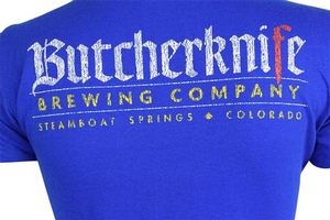 Ladies Butcherknife Brewing CO Tee