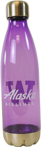 Alaska Airlines UW Water Bottle 25 oz