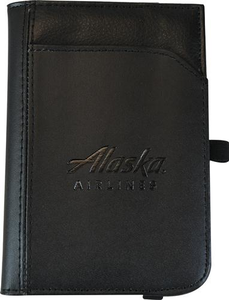 Alaska Airlines Leather Passport Wallet
