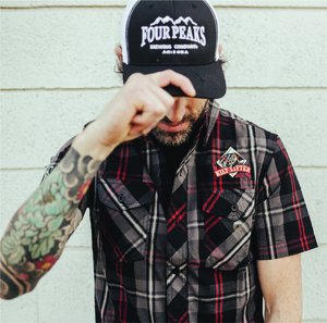 Kilt Lifter Plaid Short Sleeve