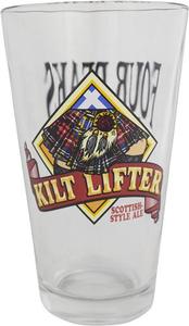 Kilt Lifter Pint Glass