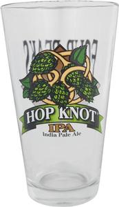 Hop Knot Pint Glass