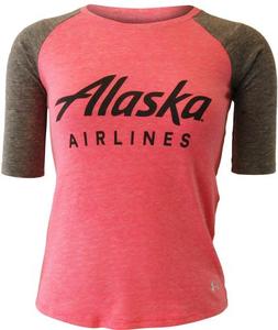 Girls Under Armour Baseball T-shirt