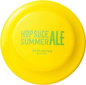 Beer Logo Frisbee: Hop Slice Summer Ale