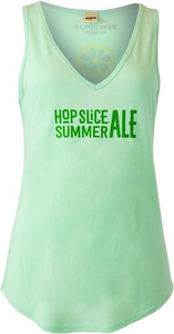 Women's Beer Logo Tank: Hop Slice Summer Ale