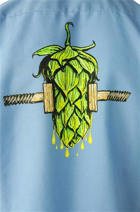 Beer Logo Work Shirt: Fresh Squeezed