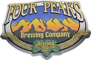 Four Peaks Logo Tin Sign