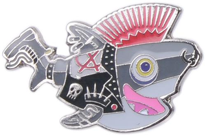 Sammy Punk Pin