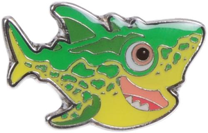 Sammy Reptile Pin