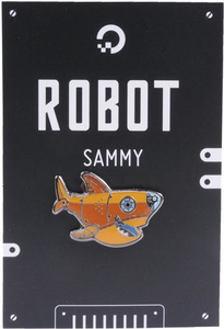 Sammy Robot Pin