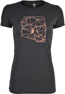Women's AZ State Geometric Tee