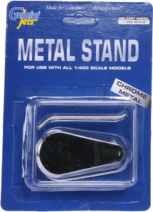 Gemini 1/400 Chrome Display Stand