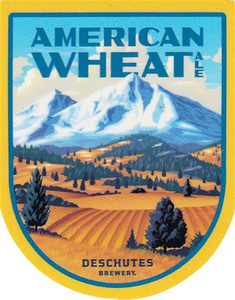 "Beer Logo 3.5"" Sticker - American Wheat"
