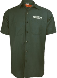 Beer Logo Work Shirt: American Wheat