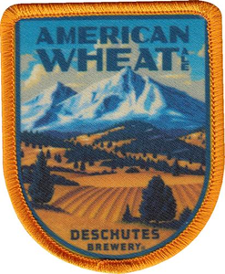 "Beer Logo 2.4"" x 3"" Patch: American Wheat"