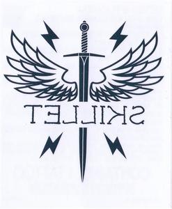 Cross Wings Temp Tattoo