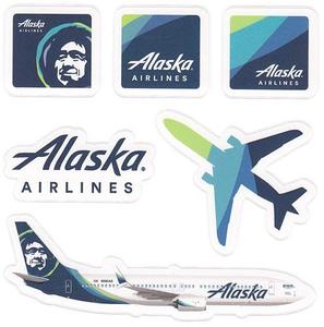 Alaska Airlines Sticker Sheet