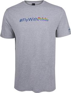 Alaska Airlines #FlywithPride Tee