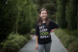 Eat Sleep Code Tee