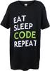 Youth Eat Sleep Code Tee image 7