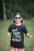 Youth Eat Sleep Code Tee image 2