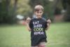 Youth Eat Sleep Code Tee image 5